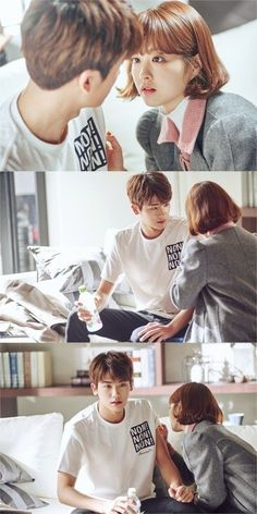 [Strong Woman Do Bong-Soon] Korean Drama Asian Actors, Korean Actresses, Korean Actors, Actors & Actresses, Korean Dramas, Strong Girls, Strong Women, Ukiss Kpop, Ahn Min Hyuk