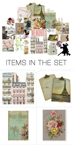 """""""Memories Of Paris"""" by patchworkcrafters ❤ liked on Polyvore featuring art"""