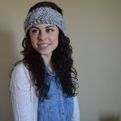 The Teton // Cabled Headband  // Chunky Knit by TheUnknotting