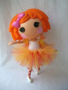 Lalaloopsy  Custom Tutu and Arm Ruffles  by AndLittleLambsEatIvy, $6.00