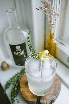 SAGE & Thyme Lemonade cocktail