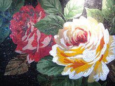 Glass Mosaic-Flower 1-highlighted