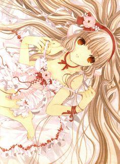 Animé: Chobits / cover de l'Intégrale Chobits - Edition Collector Limitée , character  Elda (Chi) Hibiya