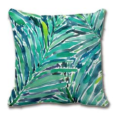 Cheap cushion cover, Buy Quality cushion cover pattern directly from China pattern cushion covers Suppliers: Tropical Canopy Palm Jungle Watercolor Pattern Throw Pillow Case Decorative Cushion Cover Pillowcase Customize Gift By
