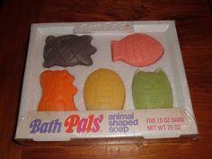 1970 Pals Vitamins Bath Pals Soap Set | Flickr - Photo Sharing!