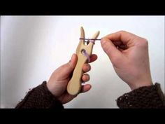 How To Use A Lucet / Knitting Fork