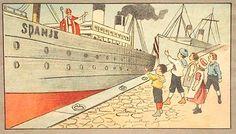 Boek : De Stoomboot van St. Nicolaas,1910, Henriette Blaauw