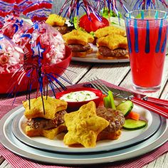 "july 4th food | It's an easy party to pull off,"" says Nancy Siler, vice president of ..."