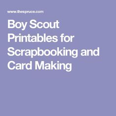 Free Boy Scout Printables for Scrapbooking and Card Making Tiger Scouts, Cub Scouts, Girl Scout Swap, Girl Scout Leader, Boy Scout Crafts, Scouting For Girls, Boy Scouting, Eagle Scout Ceremony, How To Make A Paper Bag