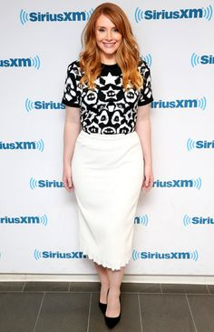 Bryce Dallas Howard in Givenchy and Roland Mouret