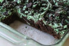 Mint + Oreos + Marshmallows + Chocolate = An amazing brownie recipe!