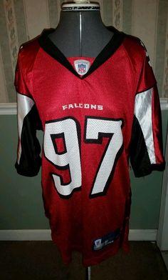 NFL Atlanta Falcons Patrick Kerney Football Jersey Size small 97 retired   AtlantaFalcons 0214cff20