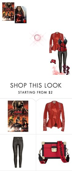 """""""Avengers: Age of Ultron - Wanda Maximoff"""" by fashionqueen76 ❤ liked on Polyvore featuring Quiksilver, Just for Luck, H&M, Tommy Hilfiger and movie"""