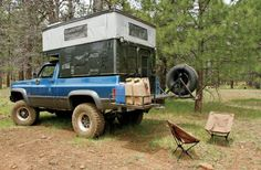 1978 Chevy K10 Setup For Camping