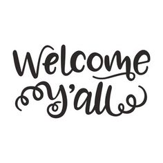 Silhouette Design Store: welcome y'all