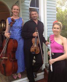 'Classical Occasion' can perform at your wedding as trio. Trios: Flute Violin Cello Piano Violin Cello Piano Violin Flute Piano Cello Flute