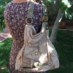 Kathy Van Zeeland Handbags - KATHY VAN ZEELAND Hobo Boho Moto Bag