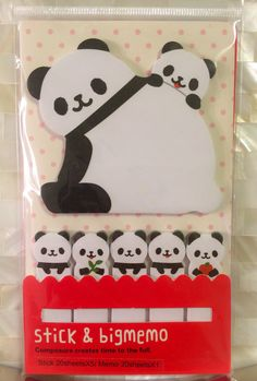 Your place to buy and sell all things handmade Memo Notepad, Best Planners, Digital Journal, Filofax, Panda Bear, Stationery, Snoopy, Scrapbook, Create