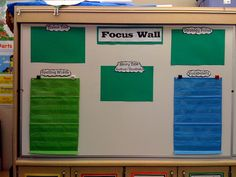 Focus Wall template