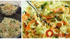 Recept na tento šalát som si doniesla z dovolenky – je vynikajúci: Robím na grilovačku aj v nedeľu k rezňom! Cabbage, Meat, Chicken, Vegetables, Food, Essen, Cabbages, Vegetable Recipes, Meals