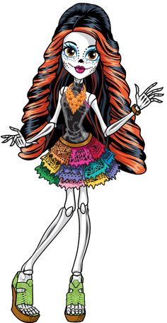 Skelita Calaveras - Monster High Wiki