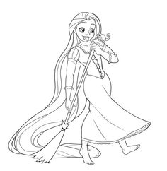 1000 images about rapunzel disegni da colorare on for Disegni da colorare rapunzel