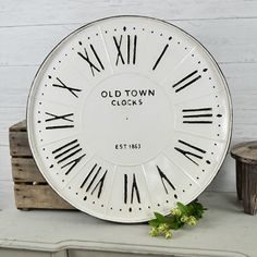 Farm Fresh Serving Dish Wall Clock