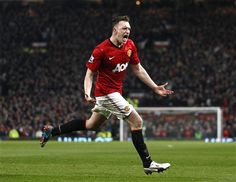 ~ Phil Jones of Manchester United with a goal against Manchester City in the Manchester Derby. Later we find out it would be an own goal for Vincent Kompany ~ Manchester Derby, Manchester City, Red Star Belgrade, Vincent Kompany, Phil Jones, Soccer Pictures, Nottingham Forest, Borussia Dortmund