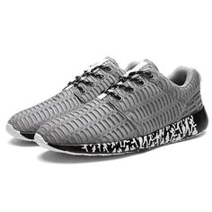 Big Size Men Mesh Fabric Breathable Sport Running Shoes Casual Sneakers is fashionable and cheap, buy best sneakers for plantar fasciitis for family-NewChic. Brown Sneakers, Best Sneakers, Casual Sneakers, Sneakers Fashion, Fashion Shoes, Women's Fashion, Fashion Ideas, Buy Nike Shoes, Sneakers For Plantar Fasciitis