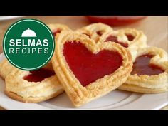 Heart Cookies, Onion Rings, Apple Pie, Waffles, Cupcakes, Breakfast, Ethnic Recipes, Food, Mother's Day