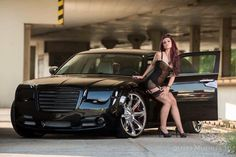 Mopar Girl, Chrysler 300, Car Tuning, Female Poses, Car Girls, Cars And Motorcycles, Automobile, American, Vehicles