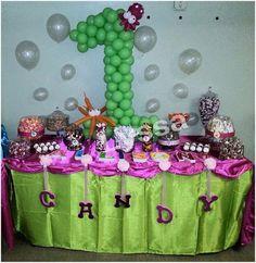 "Photo 1 of 6: 1st Birthday / Birthday ""Allison's Bubble Guppies birthday"" | Catch My Party"
