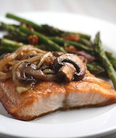 sounds delish...maple teriyaki salmon. requires a run to the store!