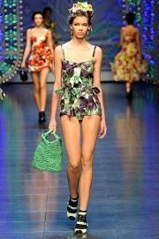 Dolce & Gabbana Floral Swimsuit