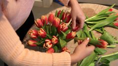 One Minute (Pro!) Tip: How To Arrange Flowers Using Tape — Apartment Therapy Videos