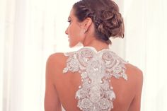 Anna Campbell – The Ivory Collection  love the detail of the design.. Would be good to cover my scar!