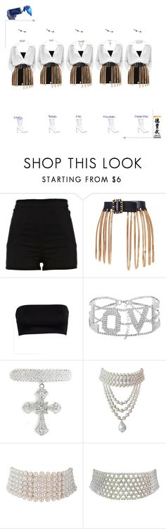 """""""Deja Vu """"Focus"""" Debut Stage"""" by dejavuofficial ❤ liked on Polyvore featuring River Island, Chanel, Marina J. and Stuart Weitzman"""