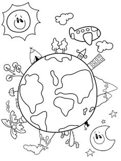 he's got the whole world in his hands coloring pages