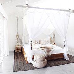"""Mi piace"": 182, commenti: 9 - Dailydreamdecor (@dailydreamdecor) su Instagram: ""Such a dreamy boho bedroom """