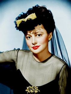 Olivia de Havilland (Color by Brenda J Mills) Hollywood Stars, Hollywood Party, Hollywood Icons, Vintage Hollywood, Hollywood Glamour, Hollywood Actresses, Classic Hollywood, Jean Harlow, Rita Hayworth