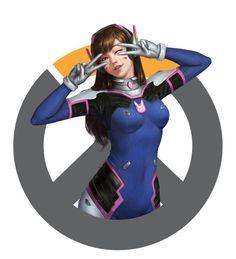 art-of-cg-girls:  Overwatch - Fanart by Alen Rocha
