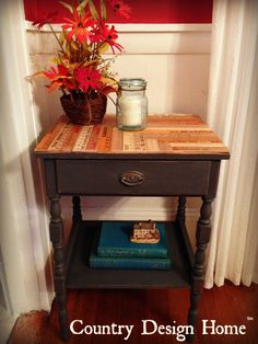 Vintage Rules Reclaimed Side Table PM