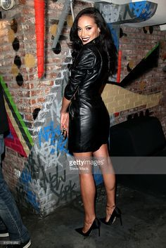 Supermodel Selita Ebanks celebrates her birthday At Troy Liquor Bar at Troy Liquor Bar on February 16, 2016 in New York City.