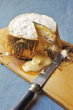Cedar Planked Goat Cheese