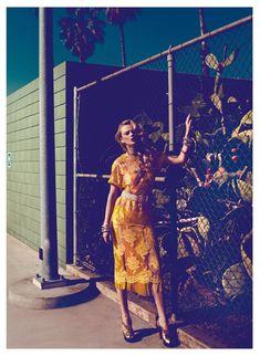 Anne Vyalitsyna Stuns in Harpers Bazaar Turkeys January 2013 Cover Shoot by Koray Birand