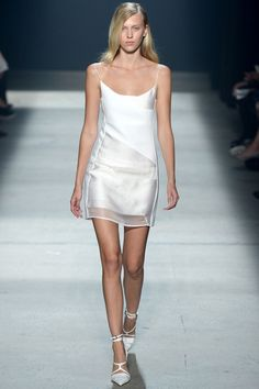 """models-on-the-runway: """" narciso rodriguez s/s 2014 """""""