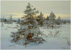 Юрий Васендин.  Зима.