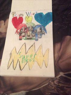 Super Bros team work by Kaylee Alexis