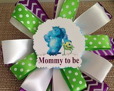 monsters inc baby shower on Etsy, a global handmade and vintage marketplace.