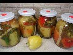 - YouTube Preserves, Pickles, Cucumber, Drinks, Cooking, Recipes, Food, Canning, Cucina
